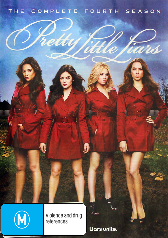 Pretty Little Liars - The Complete Fourth Season on DVD
