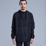 Cyrus Windbreaker - Black (Medium)