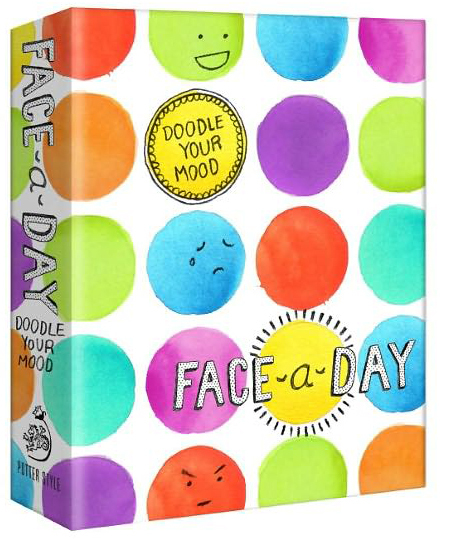 Face-a-Day Journal: Doodle Your Mood by Potter Style image