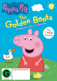 Peppa Pig - Golden Boots on DVD
