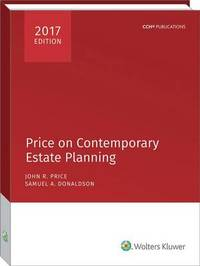 Price on Contemporary Estate Planning (2017) by John R Price