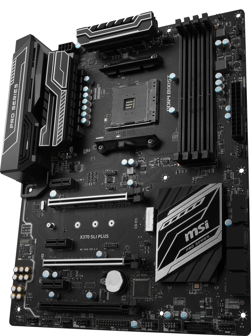 MSI X370 SLI Plus Motherboard image
