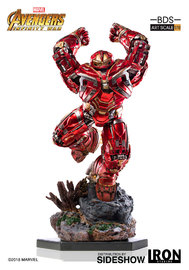 Avengers: Infinity War - 1/10 Hulkbuster - Battle Diorama Statue