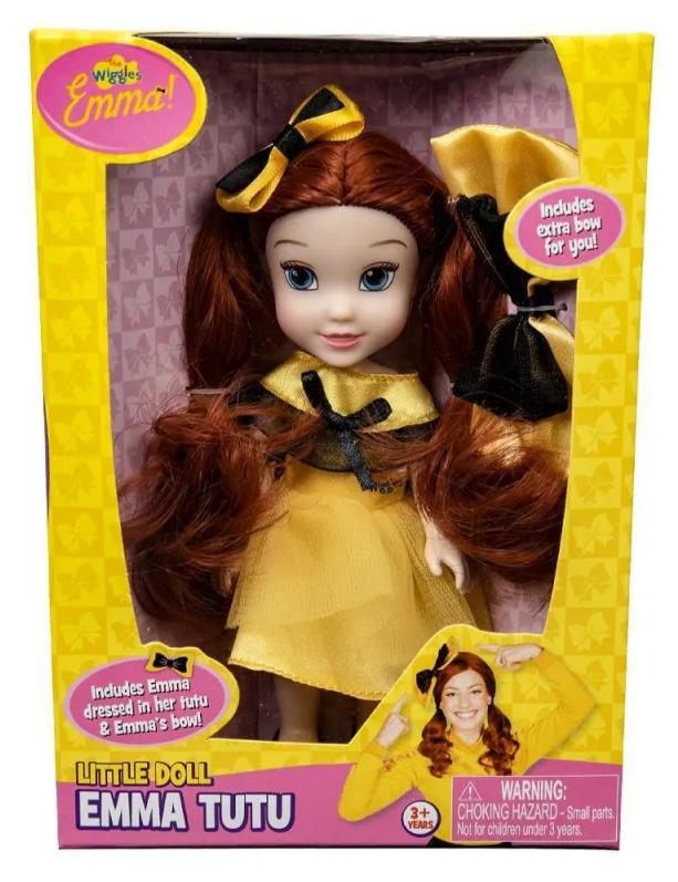 """The Wiggles: Tutu Emma – 6"""" Fashion Doll"""