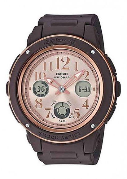 Casio Baby-G Coloured Series BGA150PG-5B1 - Brown/Rose