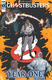 Ghostbusters: Year One - #1 (Cover A) by Erik Burnham