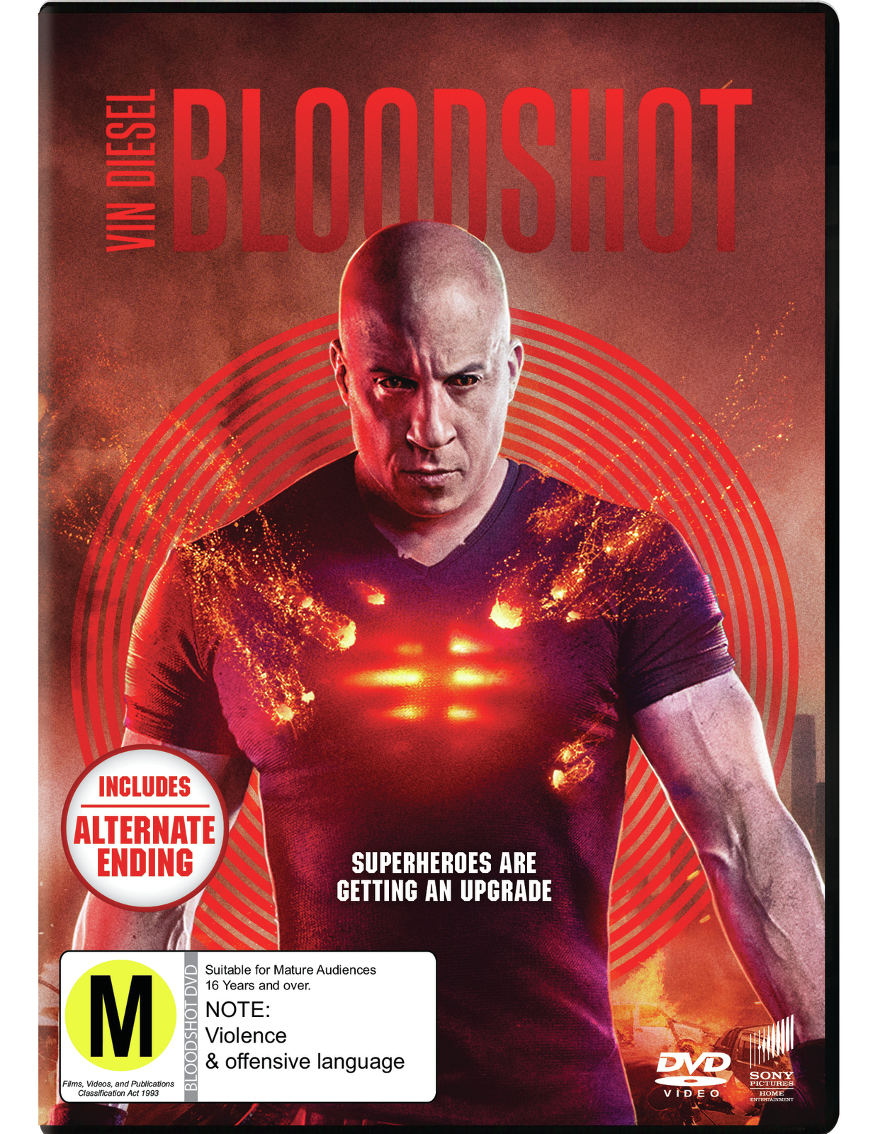 Bloodshot on DVD image