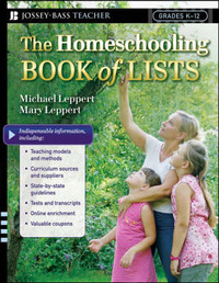 The Homeschooling Book of Lists by Mary Leppert image