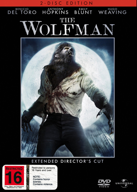 The Wolfman - Extended Director's Cut (2 Disc O-Ring Set) on DVD