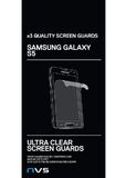 NVS Screen Guard 3 Pack for Galaxy S5