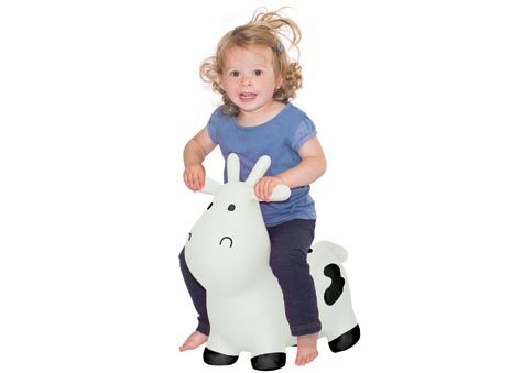 Happy Hopperz - White Cow (Small) image