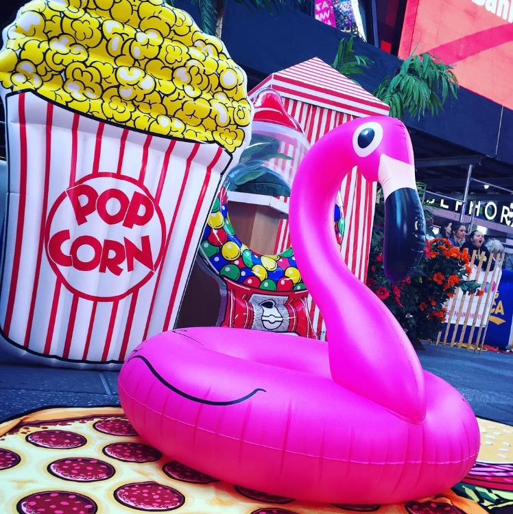 Buttery Popcorn Gigantic Pool Float At Mighty Ape