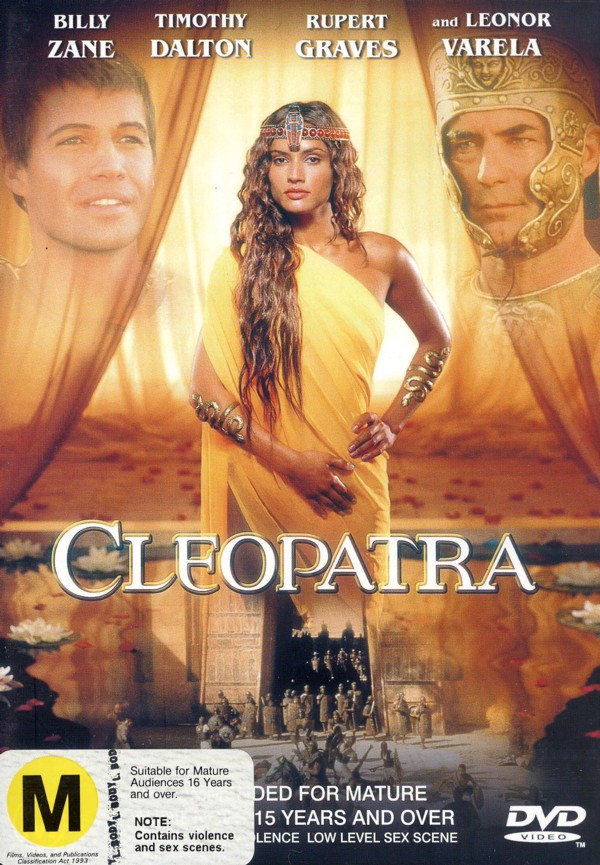 Cleopatra on DVD image