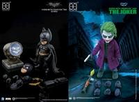 The Dark Knight: Batman & Joker - Hybrid Metal Figuration Box Set