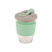 Oasis Glass Coffee Cup - Spearmint (340ml)