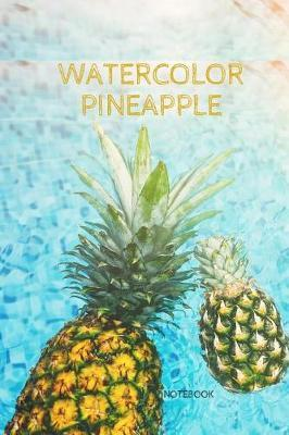 Watercolor Pineapple Notebook by Ace Publishing