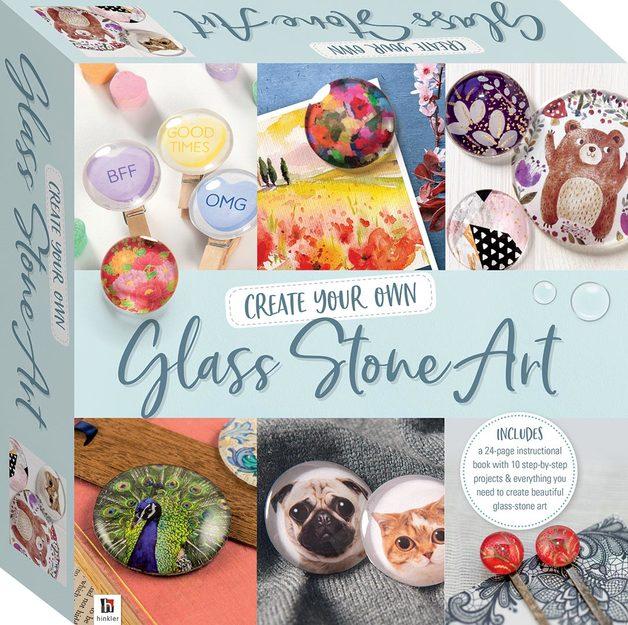 Hinkler: Create your Own - Glass Stone Art Kit