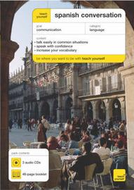 Teach Yourself Spanish Conversation by Juan Kattan Ibarra image