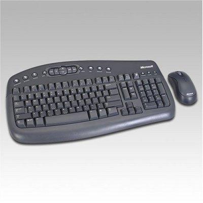 Microsoft Wireless Optical Desktop 1000 Black USB image