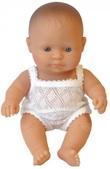 Miniland: Anatomically Correct Baby Doll - Caucasian Girl (21cm)