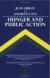 Hunger and Public Action by Jean Dreze