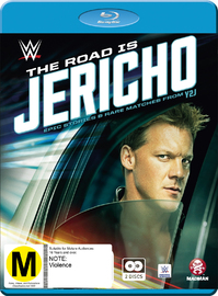WWE: The Road Is Jericho - Epic Stories & Rare Matches From Y2J on Blu-ray