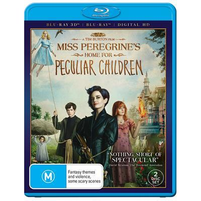 Miss Peregrines Home For Peculiar Children on Blu-ray, 3D Blu-ray image