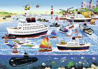 Ravensburger: Happy Harbor Puzzle - 35pc