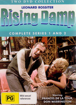 Rising Damp - Complete Series 1 And 2 (2 Disc Set) on DVD