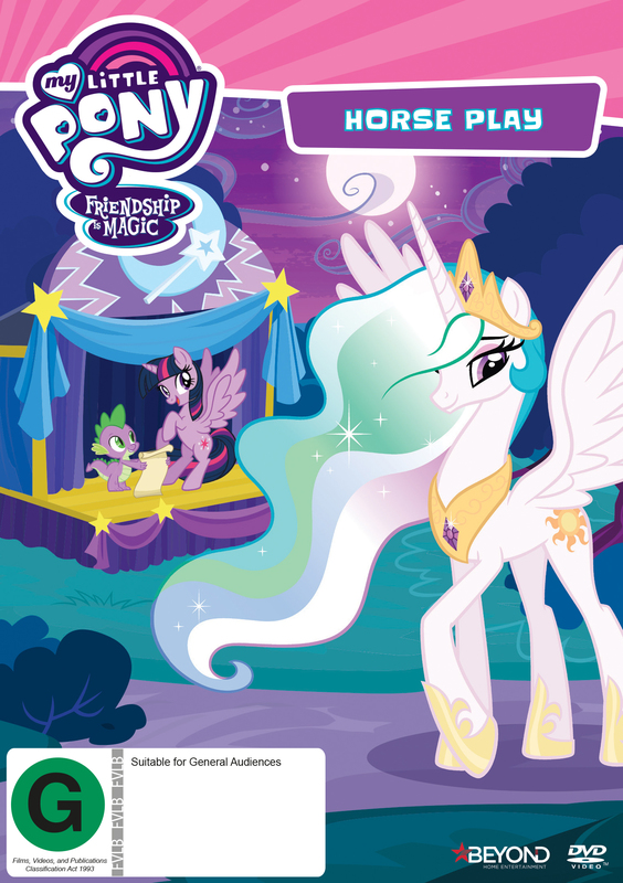 My Little Pony: Friendship Is Magic - Horse Play on DVD