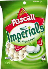 Pascall Mint Imperials (150g)