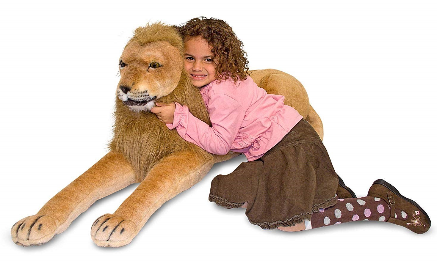 Melissa & Doug: Lion Giant Stuffed Animal Plush image