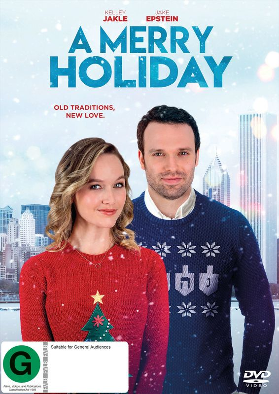 A Merry Holiday on DVD