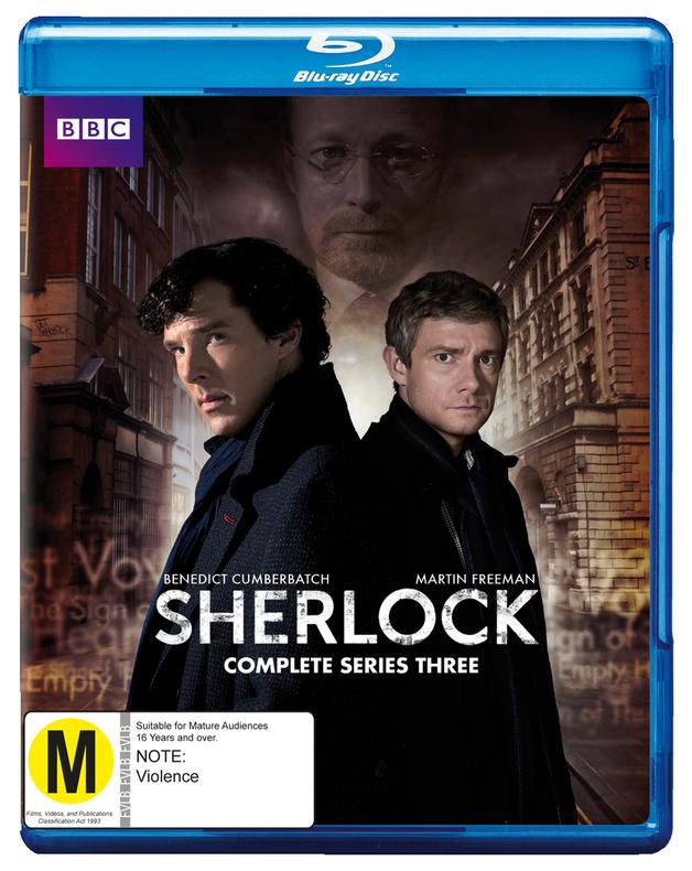 Sherlock - The Complete Third Season on Blu-ray