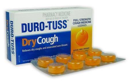 Duro-Tuss Dry Cough Lozenges - Orange (24's) image
