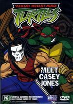 Teenage Mutant Ninja Turtles - Vol. 02: Meet Casey Jones on DVD