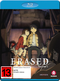 Erased - Vol 2 (Eps 7-12) on Blu-ray