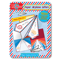 T.S. Shure: Paper Airplane - Letters Activity Tin