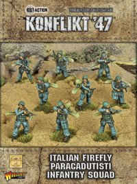 Konflikt 47: Italian Firefly Paracadutisti Infantry Squad