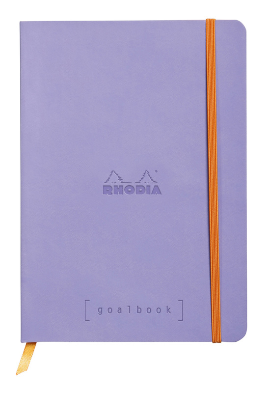 Rhodiarama A5 Goalbook Dot Grid - Iris