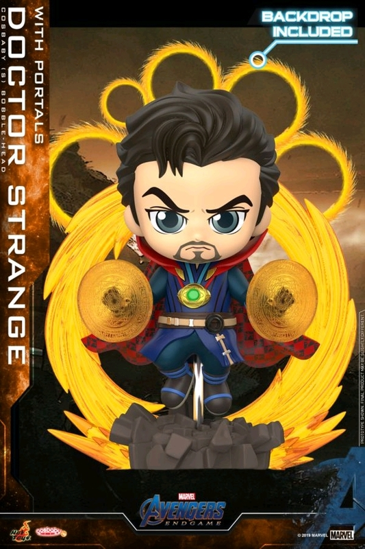 Avengers: Endgame - Doctor Strange (with Portals) Cosbaby Figure