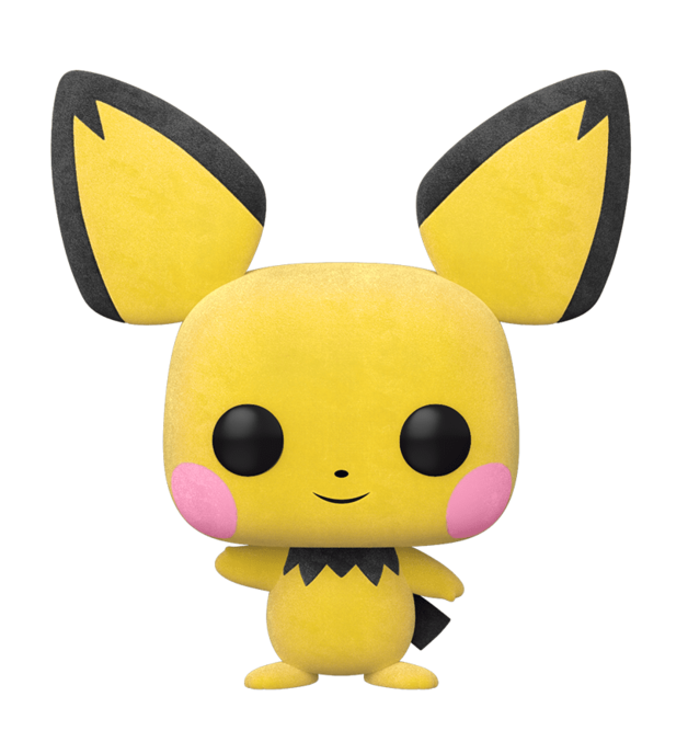 Pokemon - Pichu (Flocked) Pop! Vinyl Figure
