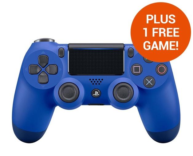 PlayStation 4 DualShock 4 v2 Wireless Controller - Wave Blue for PS4
