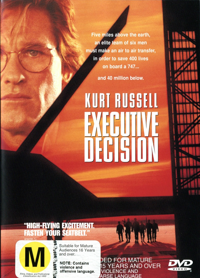 Executive Decision on DVD image