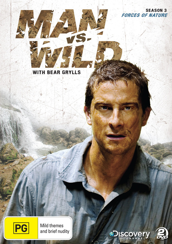 Man vs Wild - Season 3 Collection 2: Forces of Nature on DVD