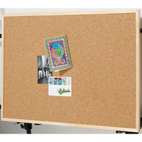 Quartet Pine Frame Cork Board - 900mm x 600mm