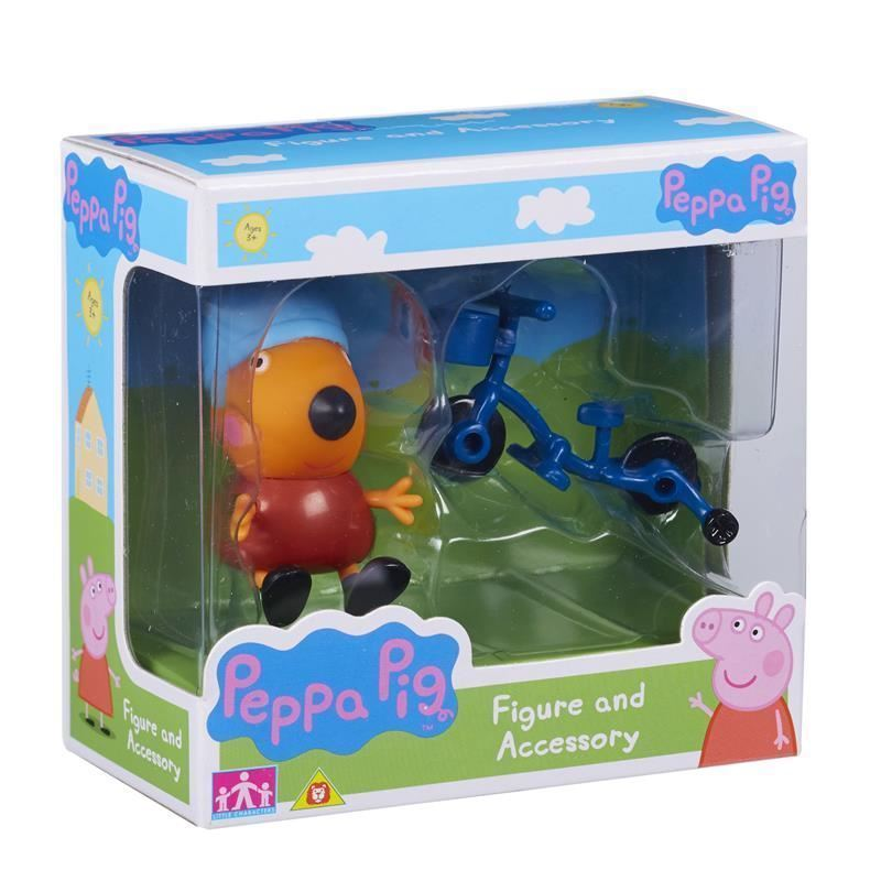 Peppa Pig: Figure and Accessory Pack - Freddie Fox & Bike image
