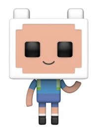 Adventure Time x Minecraft - Finn Pop! Vinyl Figure
