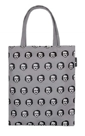 Out of Print: Edgar Allan Poe-Ka Dots - Tote Bag
