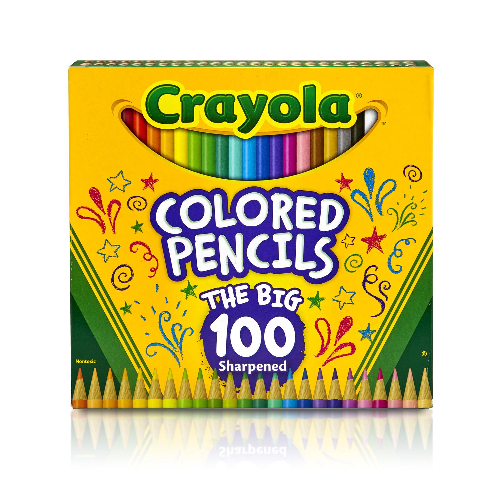 Crayola Colored Pencils - The Big 100 image